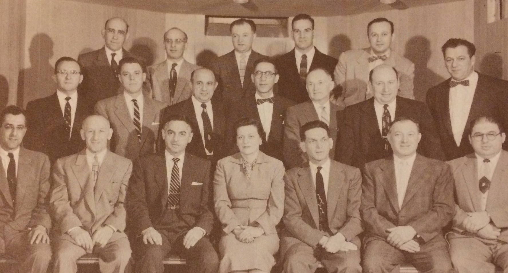 1953 Board of Trustees**