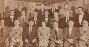 Temple Emanu-El Board 1953